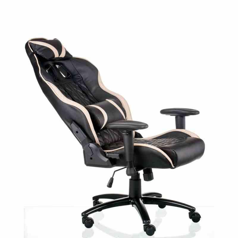 Крісло ExtremeRace Black/Cream 8