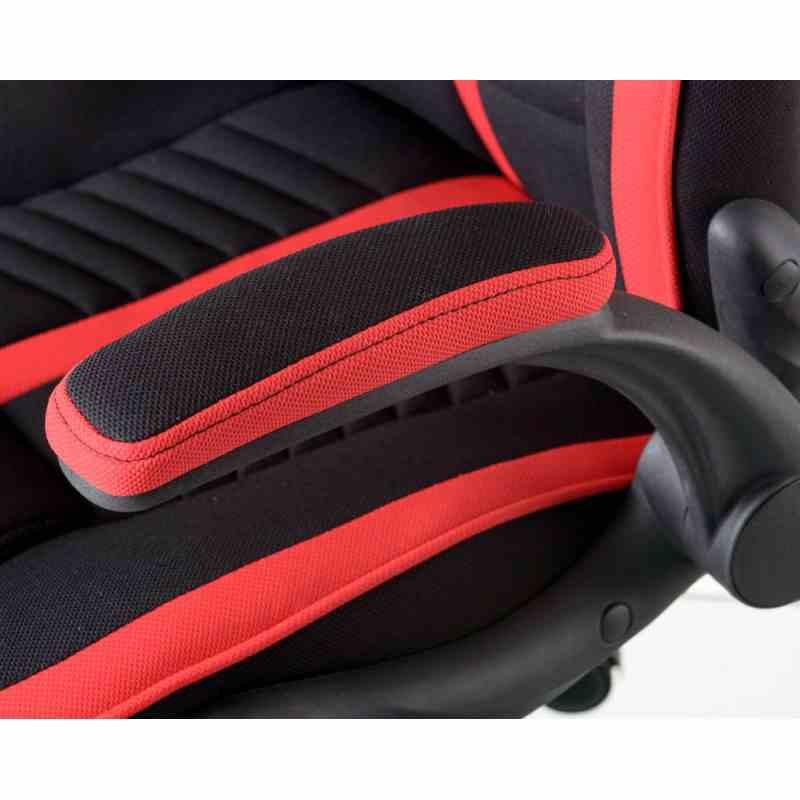 Крісло Prime Black/Red 5