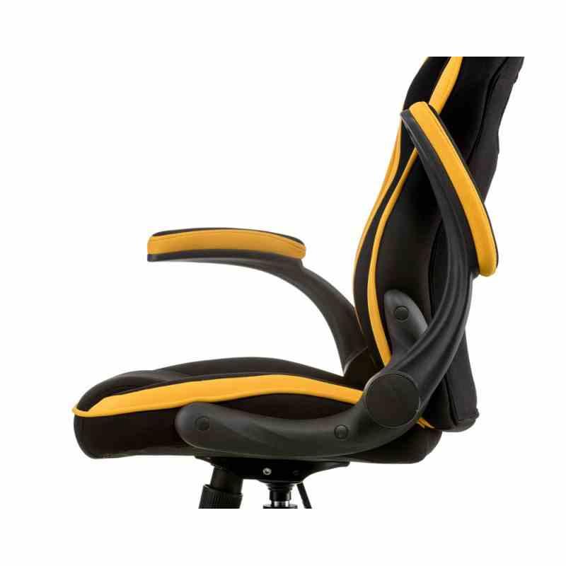 Крісло Prime black/yellow 5