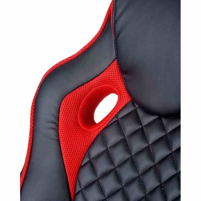 Крісло Mezzo Black/Red 5