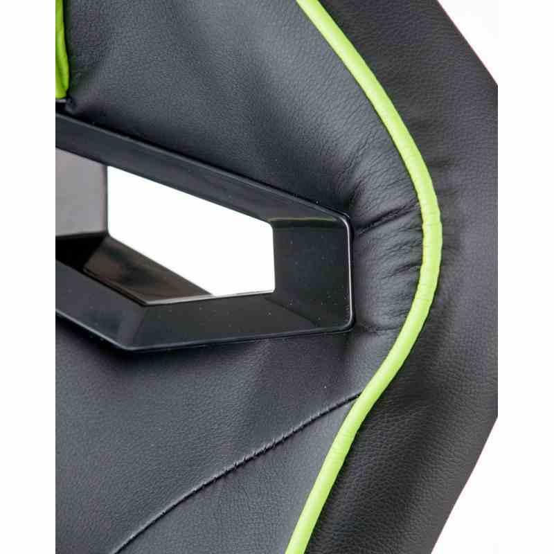 Крісло Nitro Black/Green 5