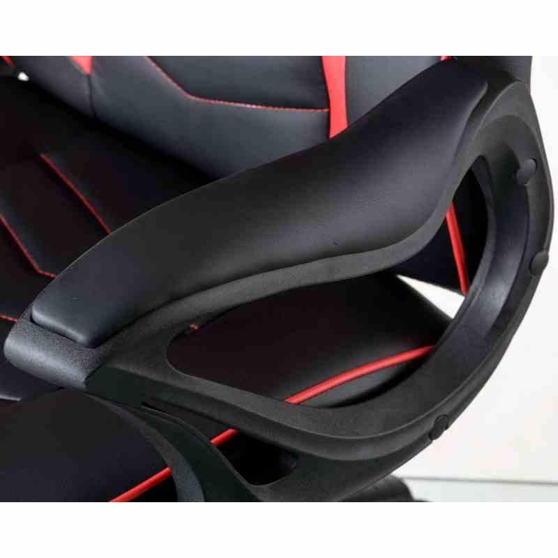 Крісло Nitro Black/Red 5
