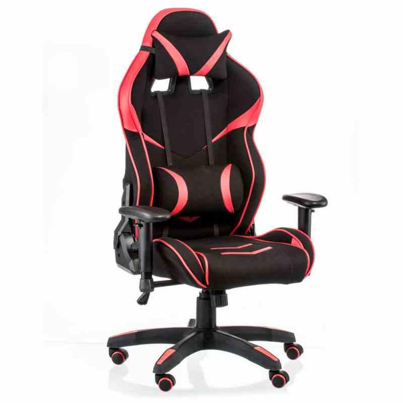 Крісло ExtremeRace 2 black/red 4