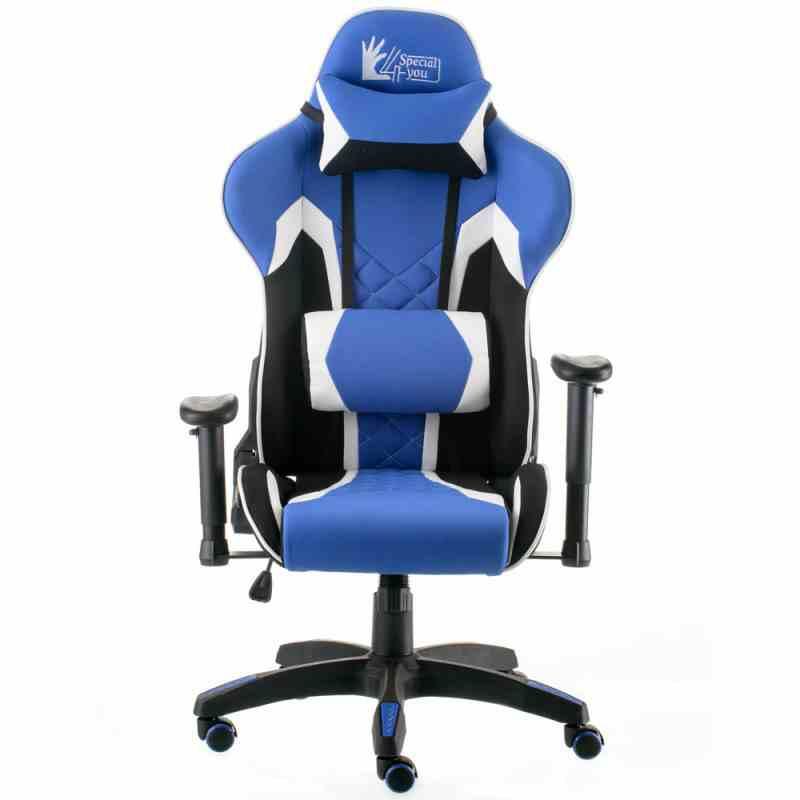 Крісло ExtremeRace 3 black/blue 5