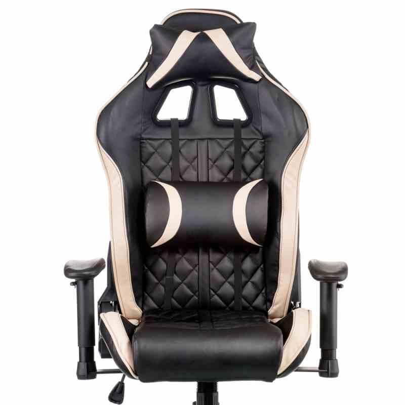 Крісло ExtremeRace Black/Cream 5