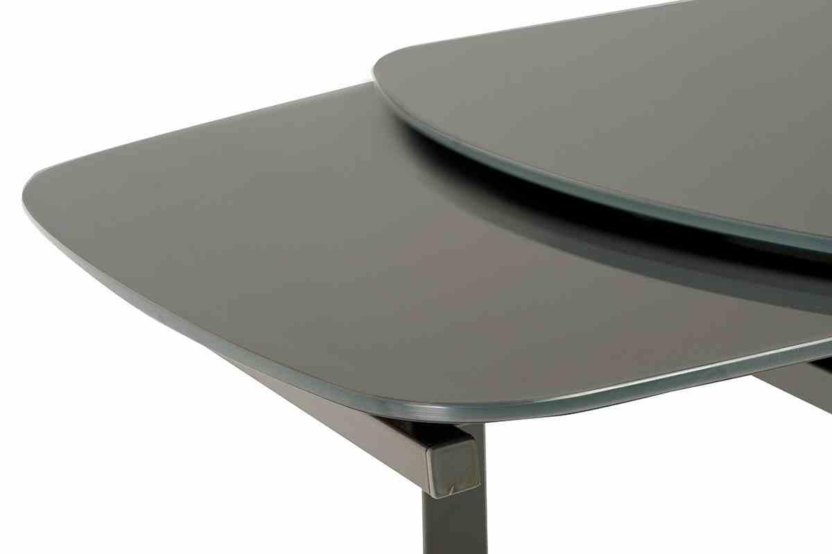 Обідній стіл Т-600-2 графіт 5