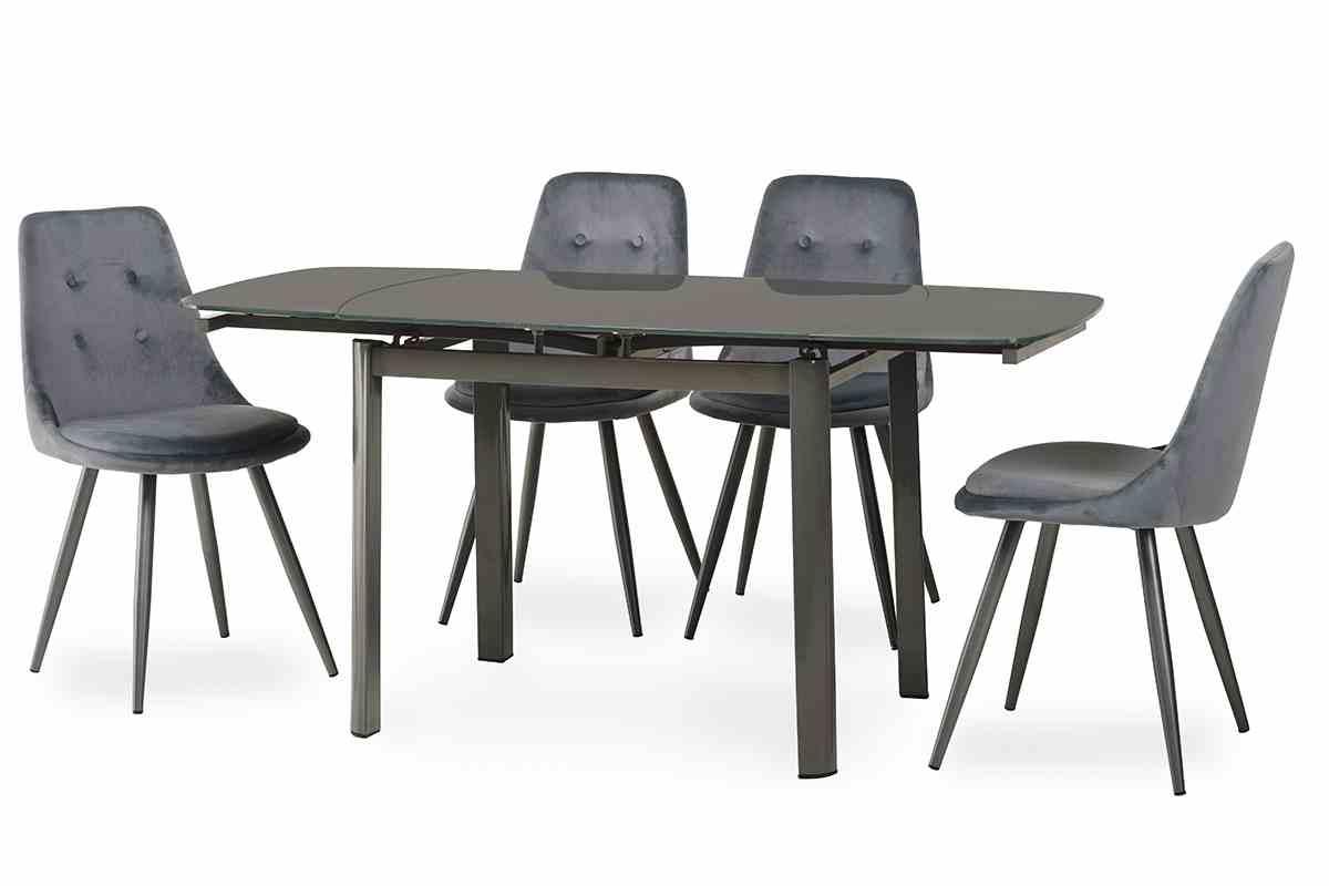 Обідній стіл Т-600-2 графіт 1