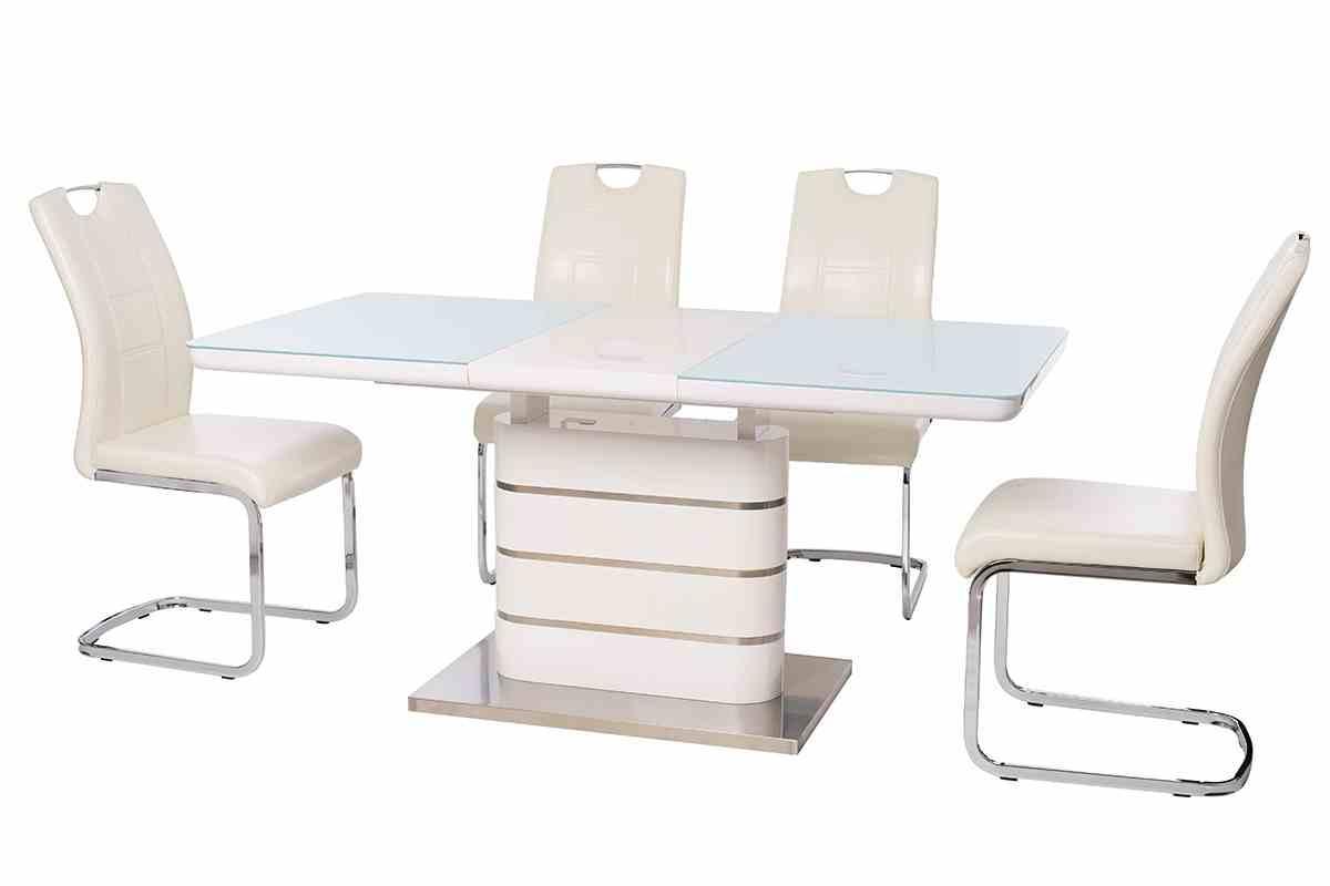 Обідній стіл TM-52-1 білий 1