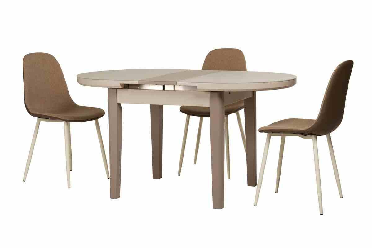 Обідній стіл TM-75 капучино-латте 3
