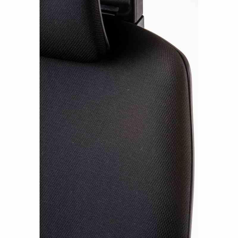 Крісло офісне Wau black fabric 9