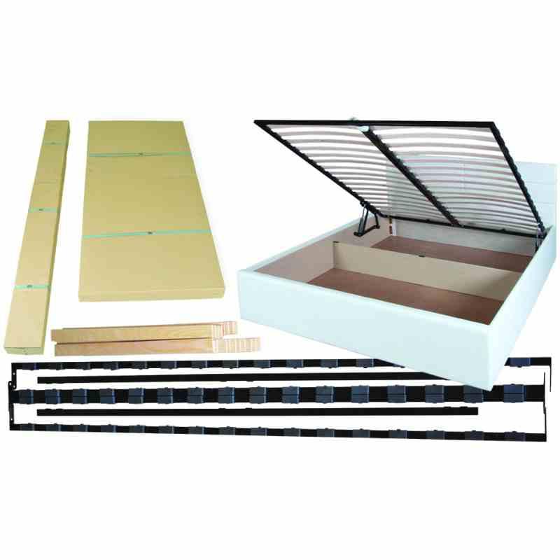 Двоспальне ліжко LAGUNA lift 1600x2000 brown 3