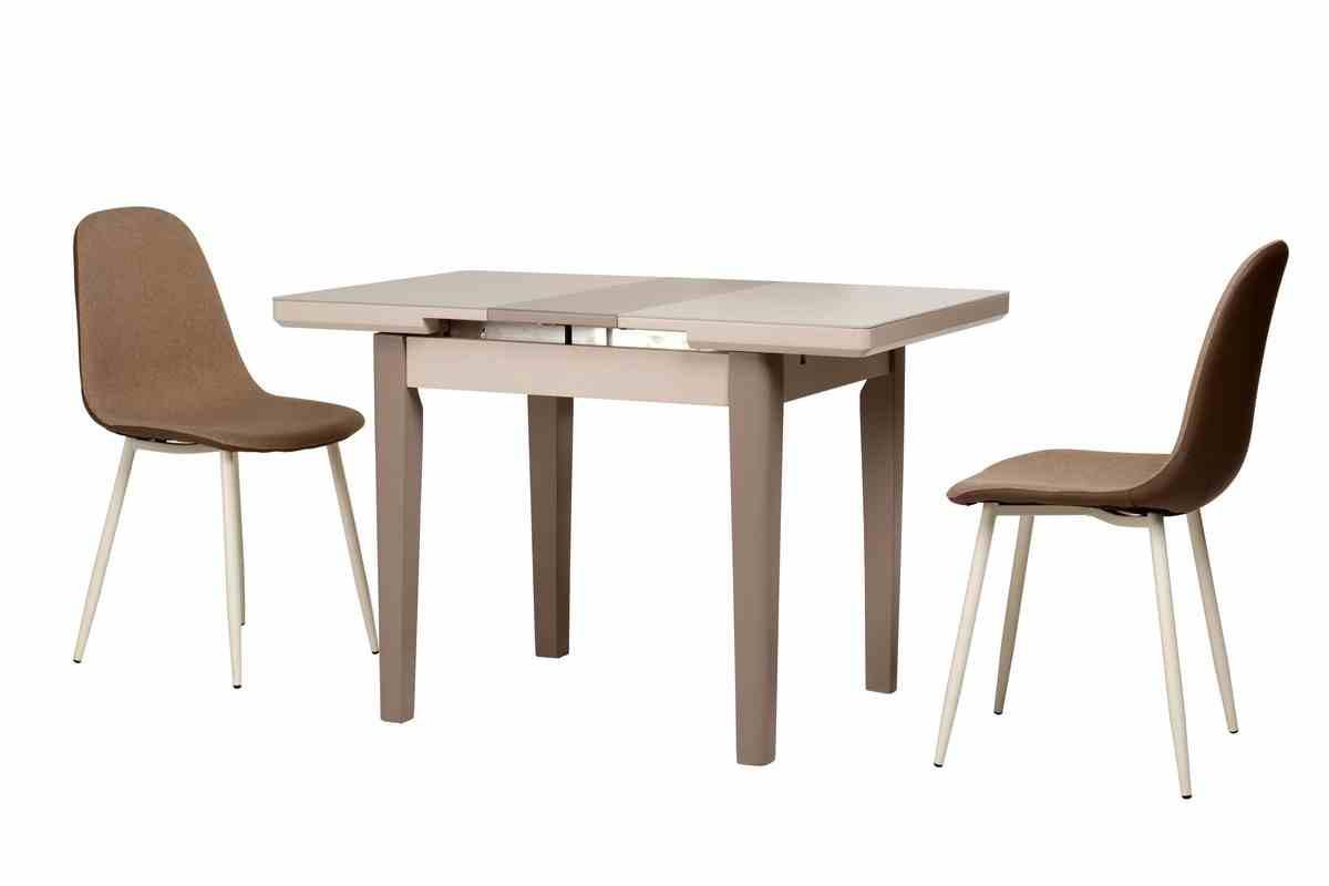 Обідній стіл TM-79 капучино-латте 6