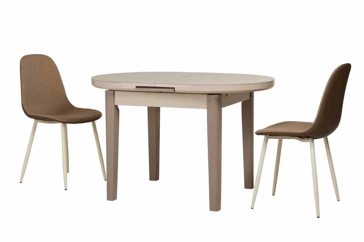 Обідній стіл TM-75 капучино-латте 5