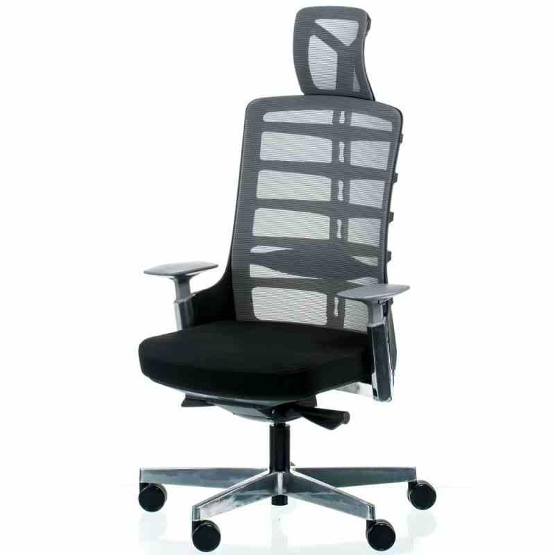 Крісло SPINELLY BLACK/METALLIC 19