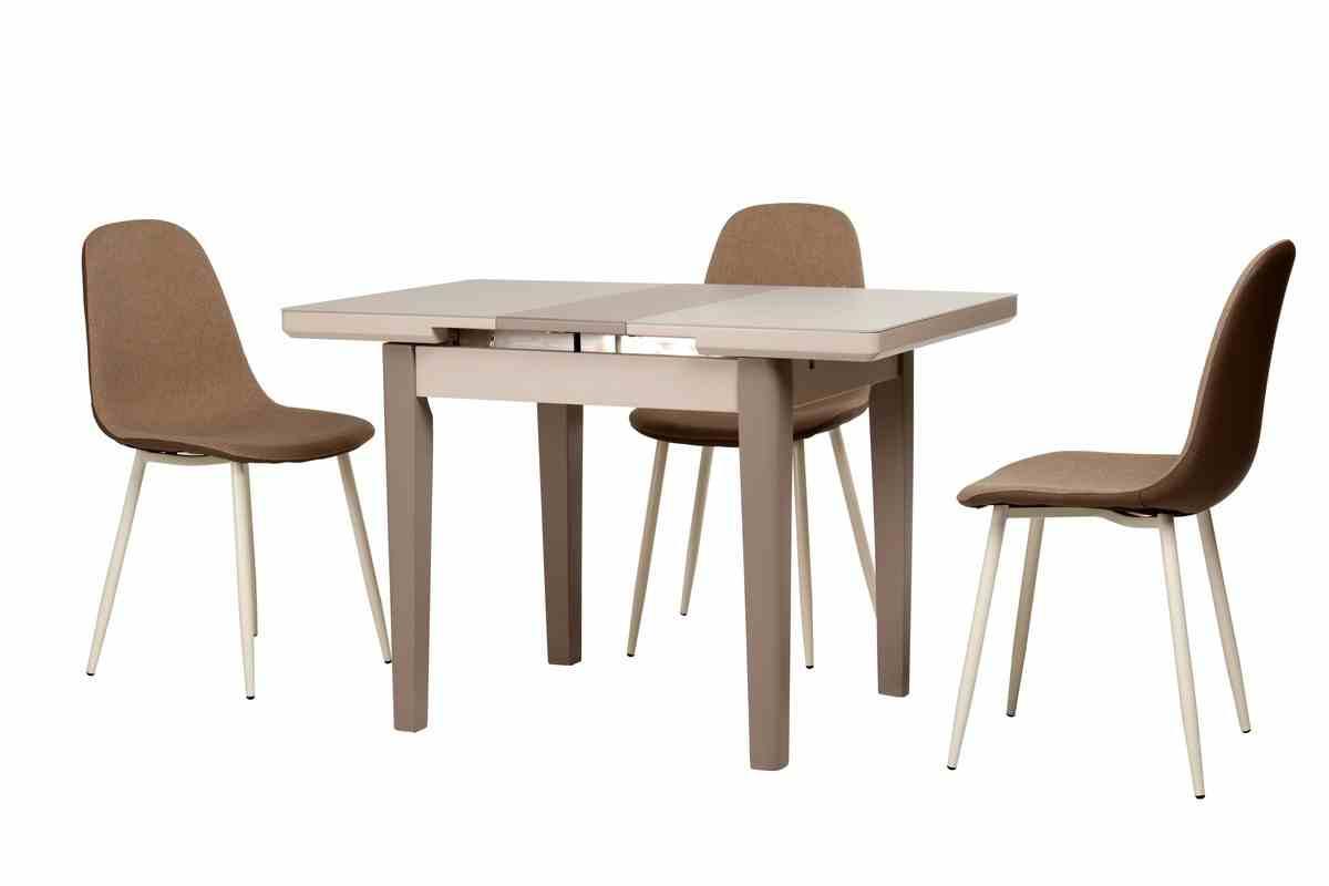 Обідній стіл TM-79 капучино-латте 3