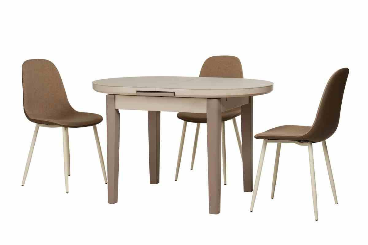 Обідній стіл TM-75 капучино-латте 4