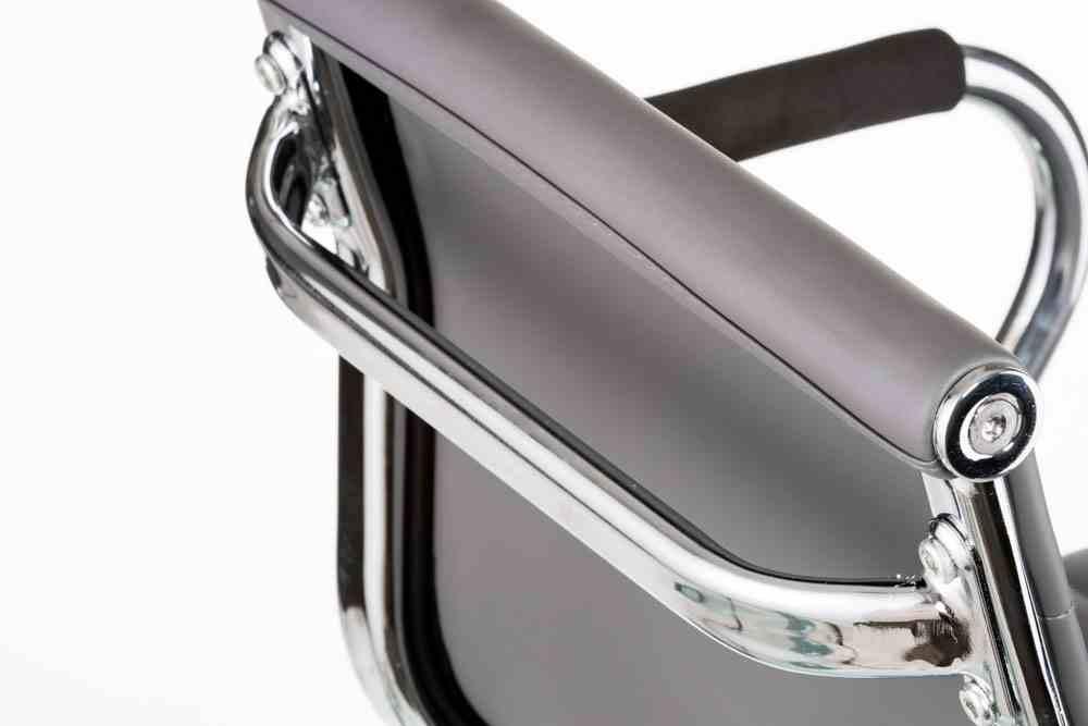 Барний стілець Bar grey plate 7