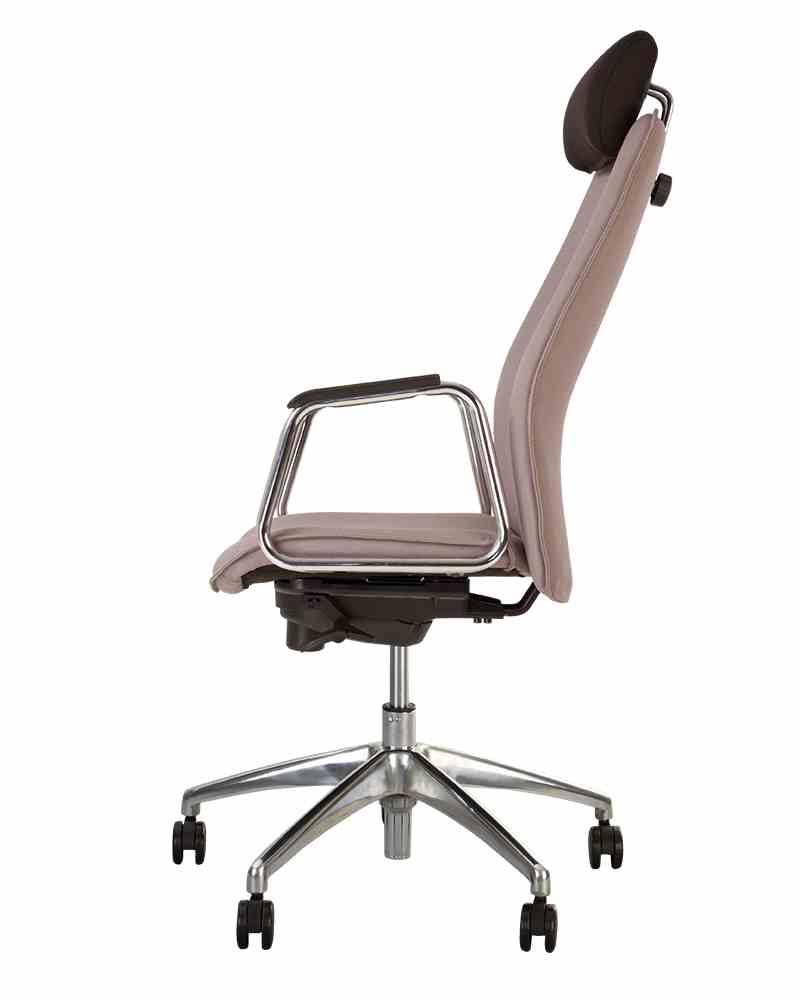 Крісло SOLO HR steel ST AL70 з «Синхромеханiзмом» 1