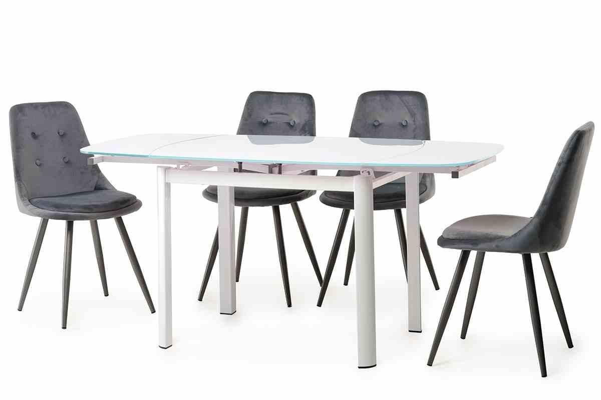 Обідній стіл Т-600-2 сніжно-білий 0