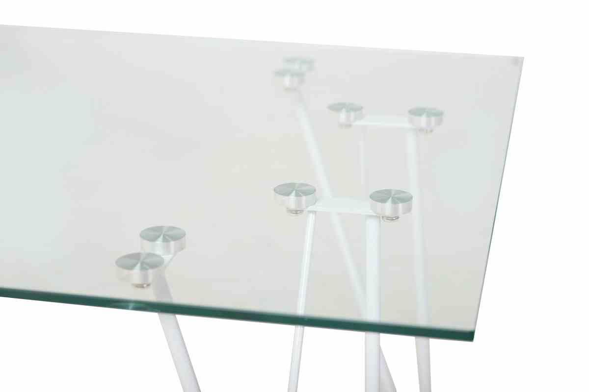 Журнальний стіл C-185 прозорий 2