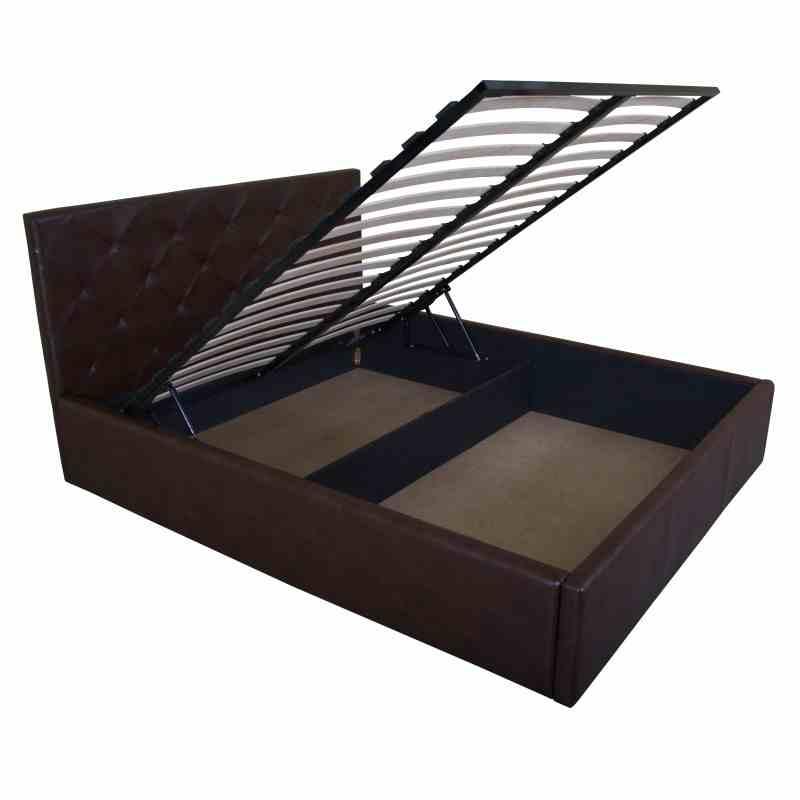 Ліжко BRIZ lift 1600x2000 brown 0