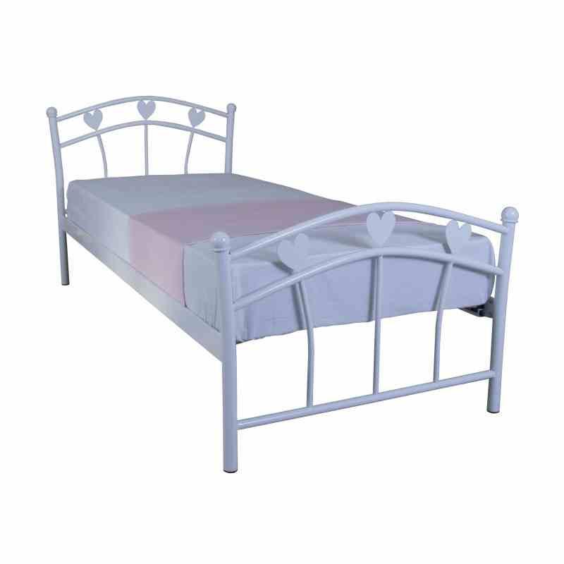 Дитяче односпальне ліжко Eagle MARLENA 900х2000 white 0