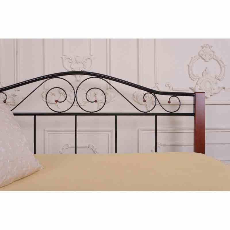 Двоспальне ліжко VEDERI 1400x2000 black 0