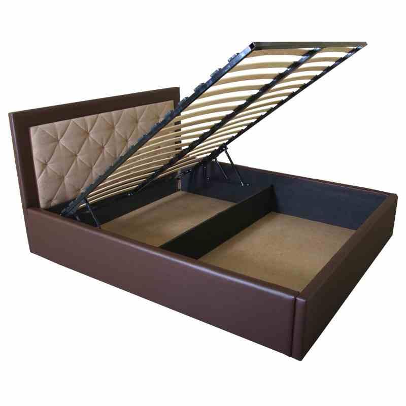 Ліжко IRMA lift 1600x2000 beige/brown 0