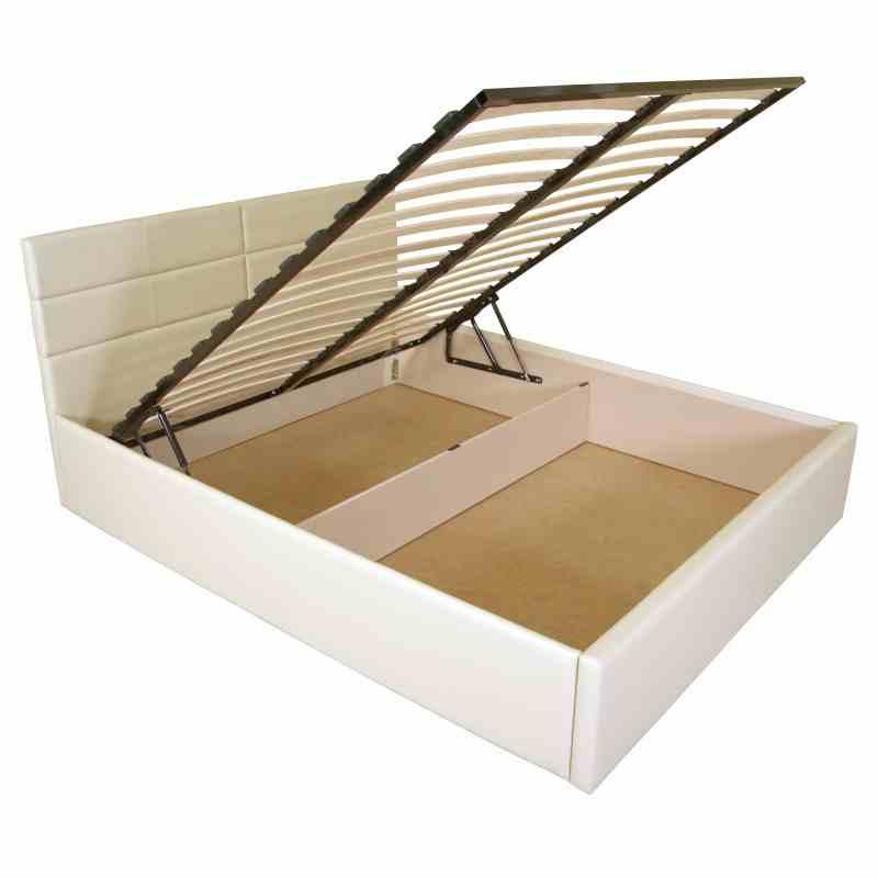 Двоспальне ліжко LAGUNA lift 1600x2000 beige 0