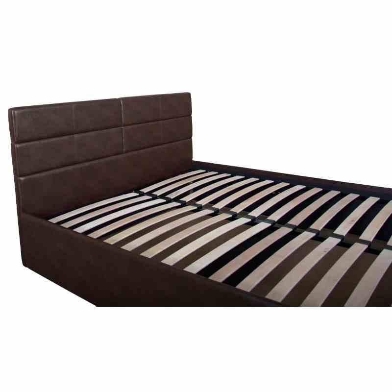 Двоспальне ліжко LAGUNA lift 1600x2000 brown 0