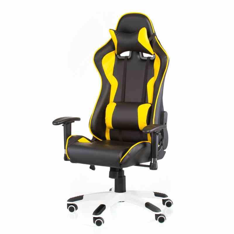 Крісло ExtremeRace black / yellow 16