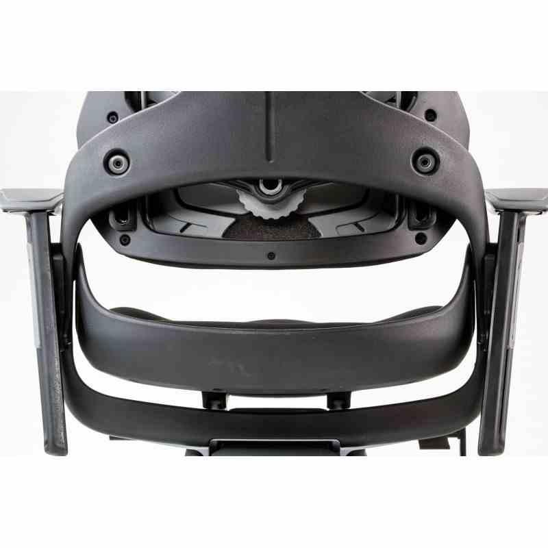 Крісло офісне Wau black fabric 7