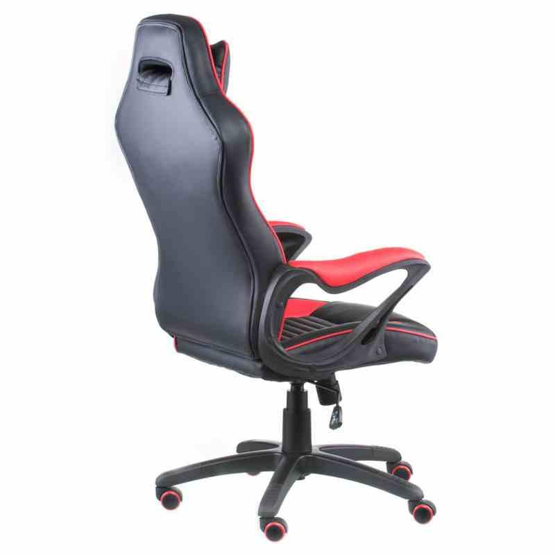 Крісло Nero Black/Red 3