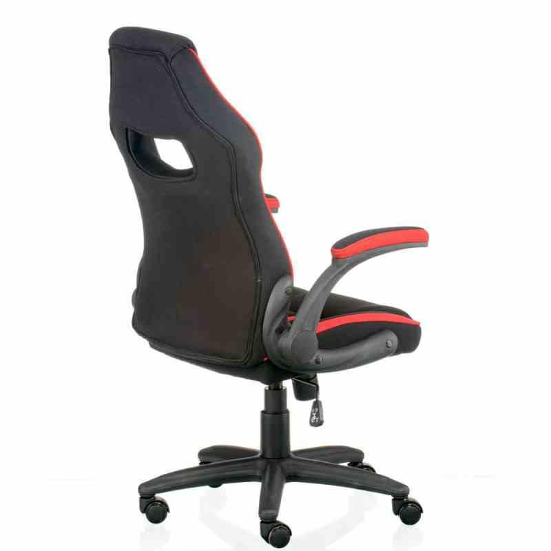Крісло Prime Black/Red 3