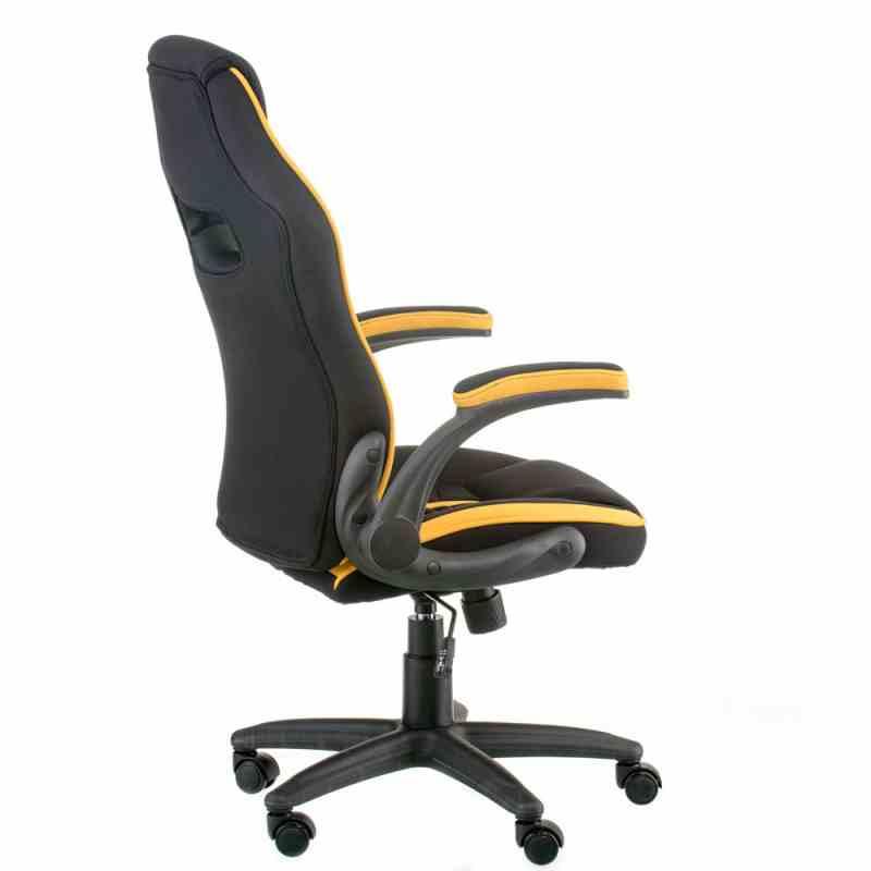 Крісло Prime black/yellow 3