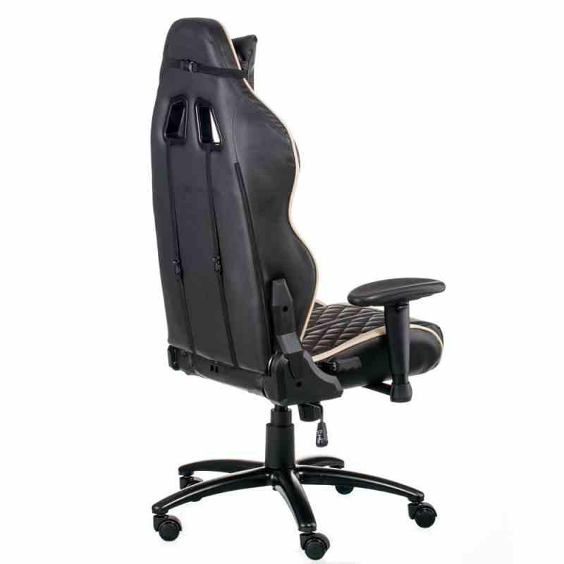 Крісло ExtremeRace Black/Cream 3