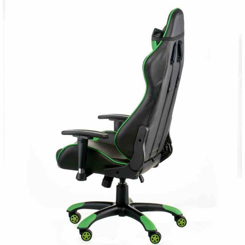 Крісло ExtremeRace black/green 2