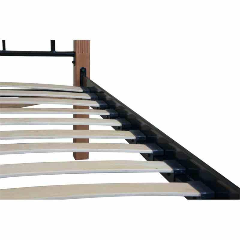 Двоспальне ліжко Eagle CLEO 1600x2000 black 3
