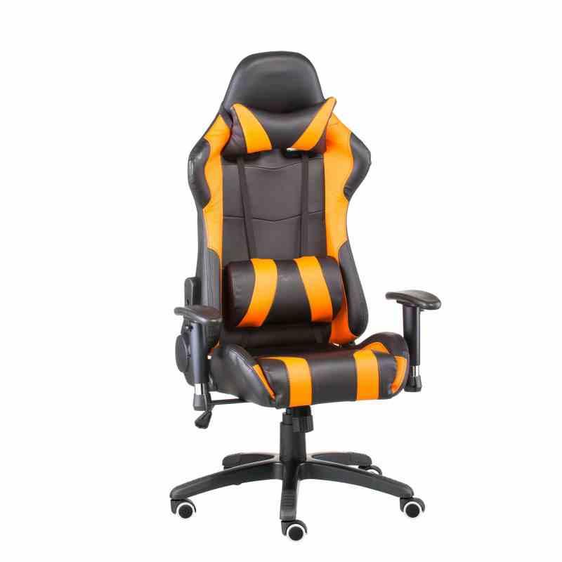 Крісло ExtremeRace black/orange 11