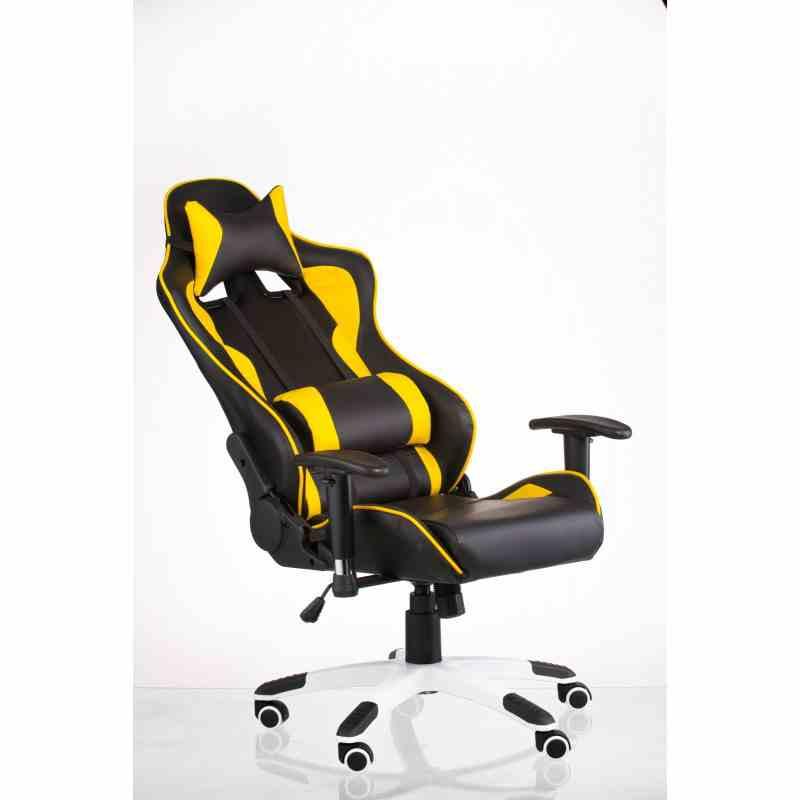 Крісло ExtremeRace black / yellow 14