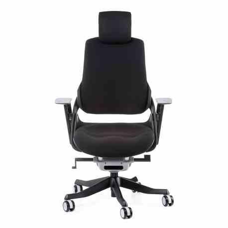 Крісло офісне Wau black fabric 0