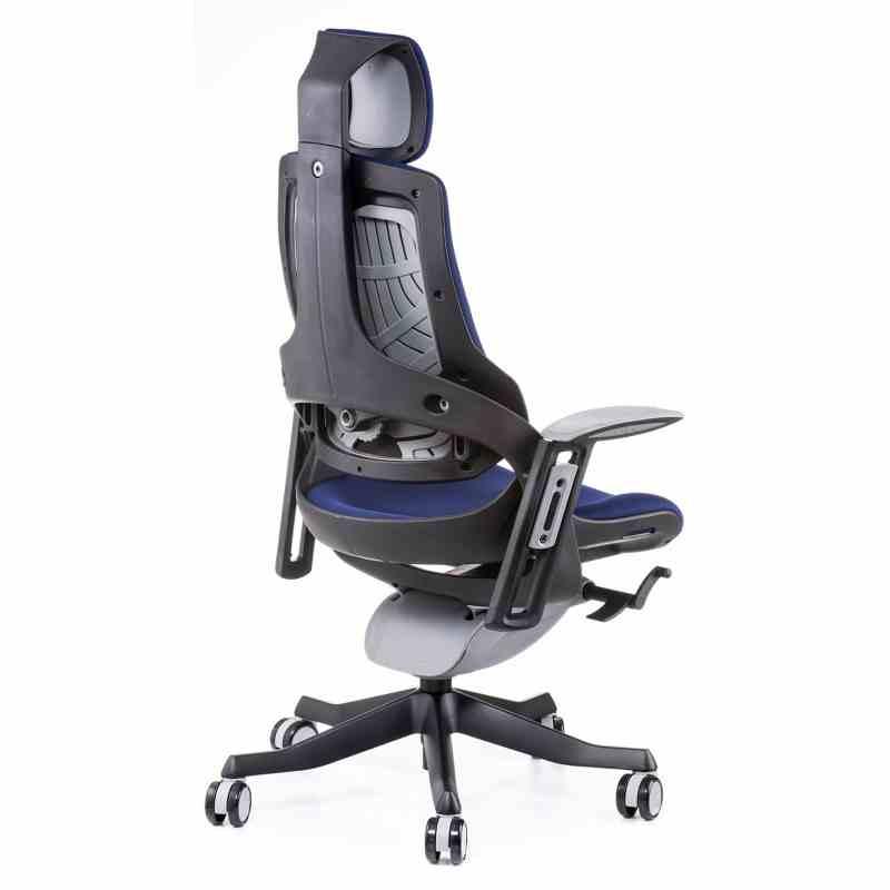 Крісло WAU NAVYBLUE FABRIC 1