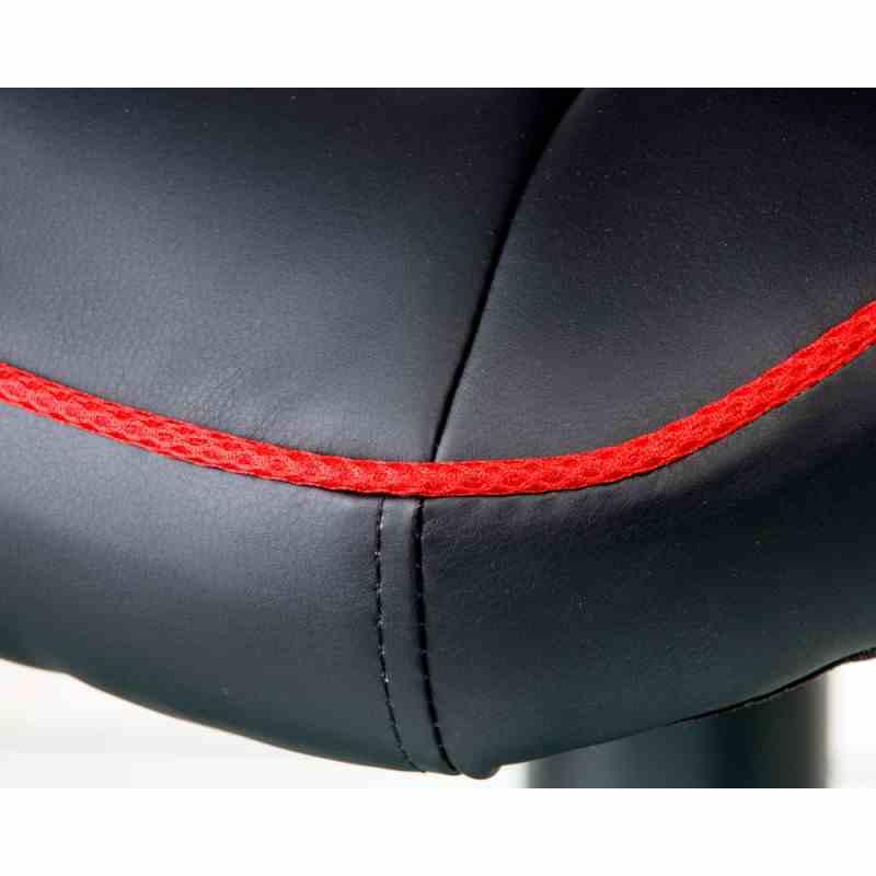 Крісло Mezzo Black/Red 7