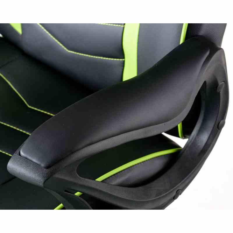 Крісло Nitro Black/Green 7