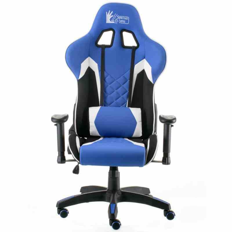 Крісло ExtremeRace 3 black/blue 7