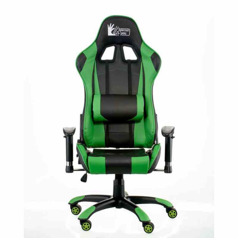 Крісло ExtremeRace black/green 6
