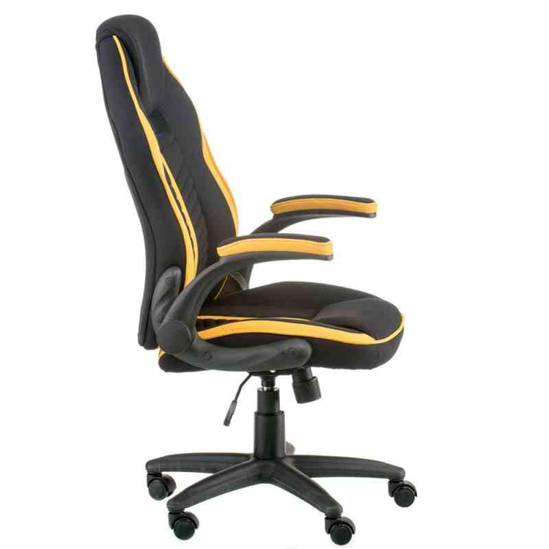 Крісло Prime black/yellow 1