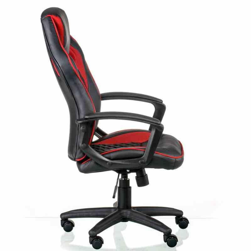 Крісло Mezzo Black/Red 1