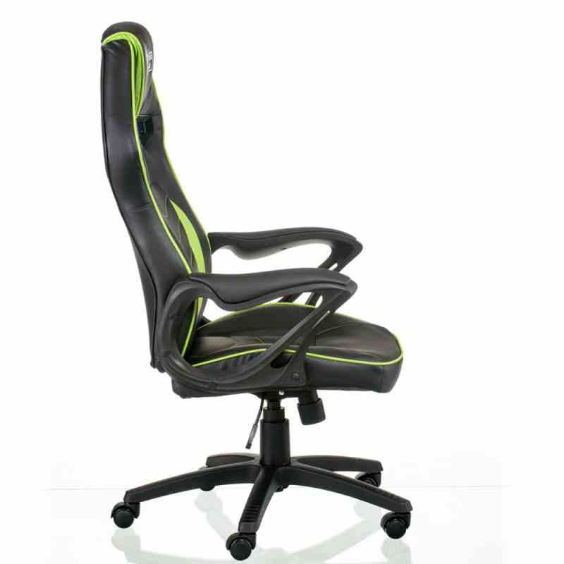 Крісло Nitro Black/Green 1