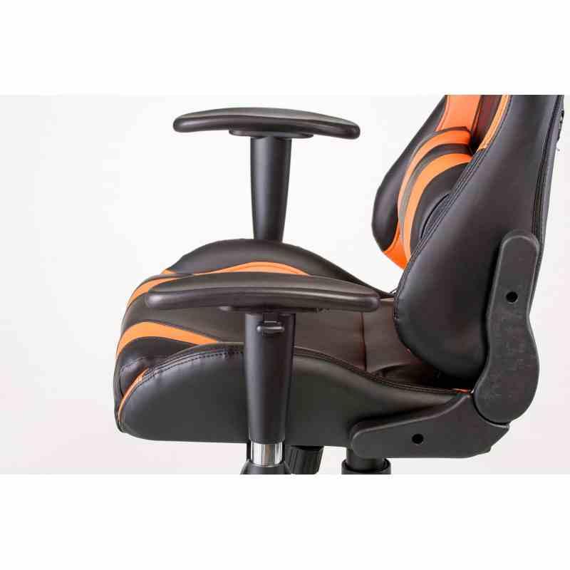 Крісло ExtremeRace black/orange 5